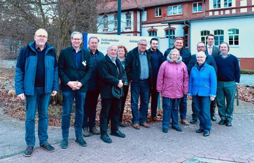 SPD JL besuchte AWO-Fachkrankenhaus Jerichow
