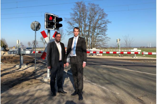 Petition für eine Brücke am Bahnübergang Heyrothsberge